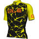 Alé Cycling Cracle Short Sleeve Jersey Men black-fluo yellow-fluo orange